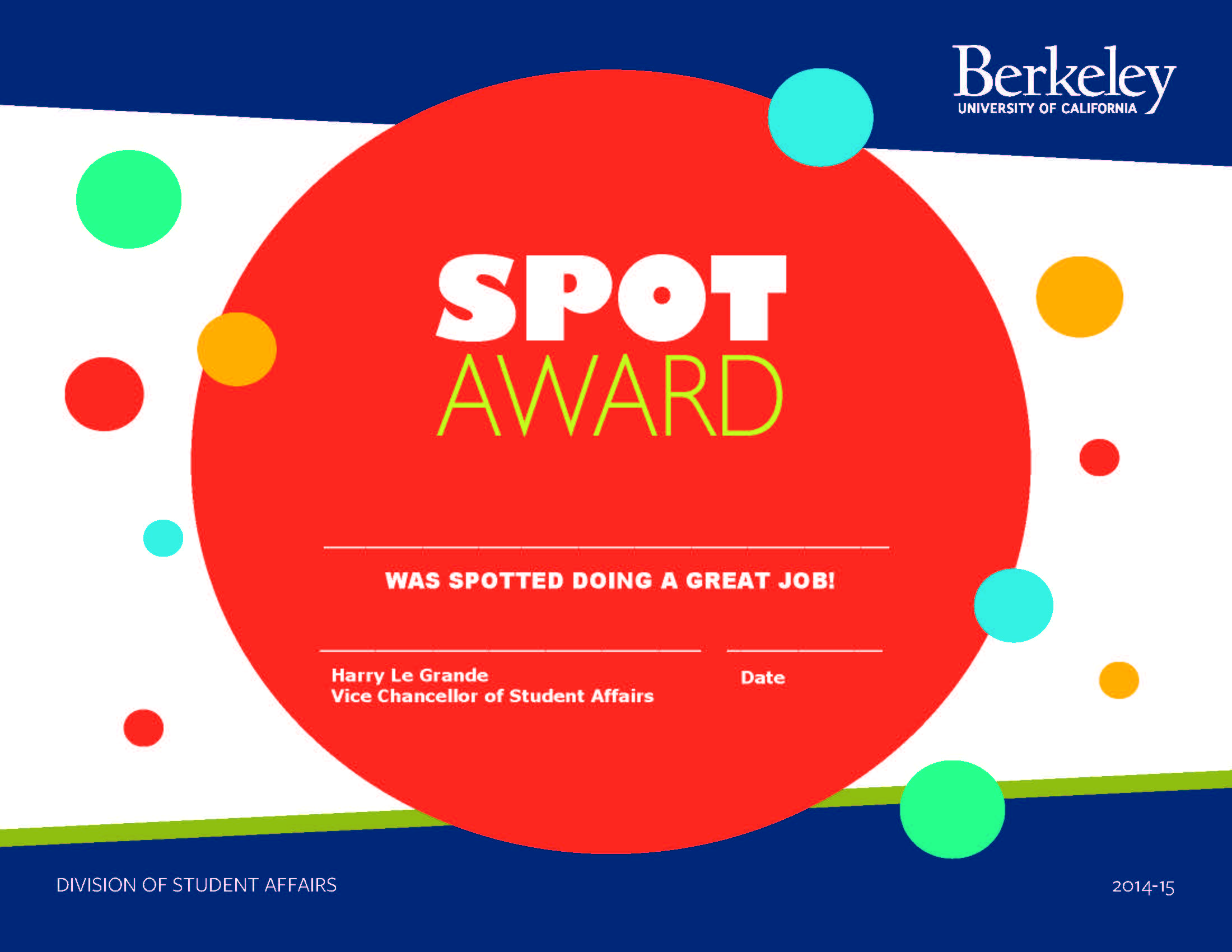 Spot Awards  Human Resources