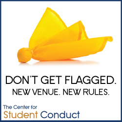 Don't get flagged. New Venue. New Rules.