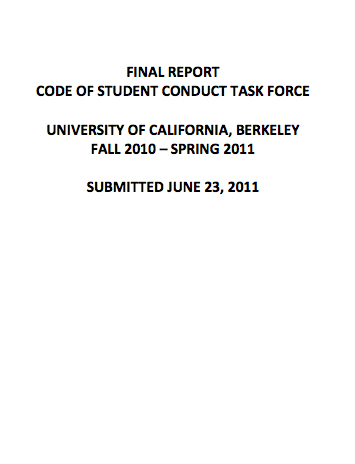 Task Force Report 2011