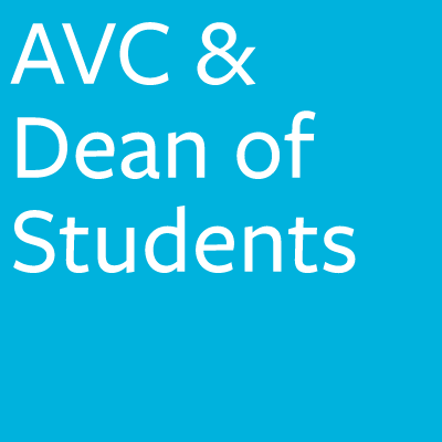AVC & Dean of Students