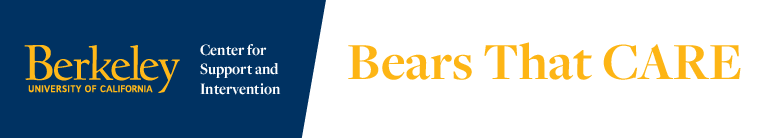 Center fro Support and Intervention - Bears That Care, University of California, Berkeley