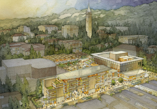 Lower Sproul Rendering