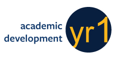 yr1 academic development